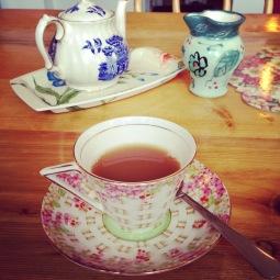 A spot of tea!